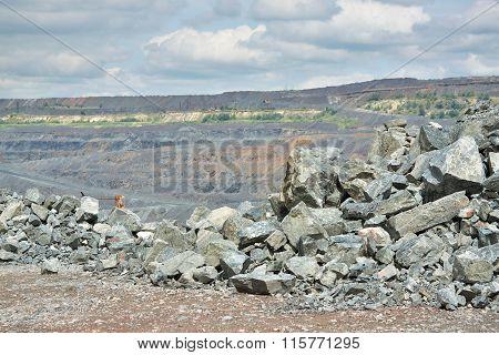 Iron Ore Opencast Mine