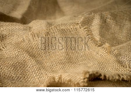 Texture Of Burlap Material Background Hessian