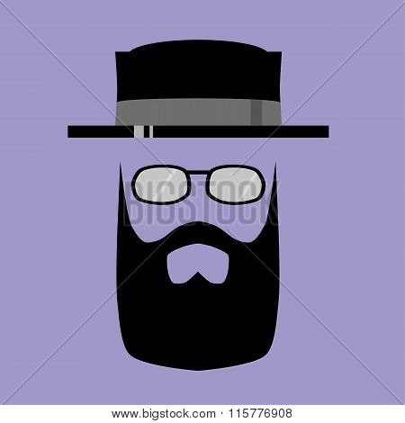 Hipster Pork Pie Hat