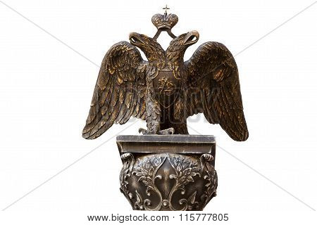Double-headed Eagle. Volgograd, Russia