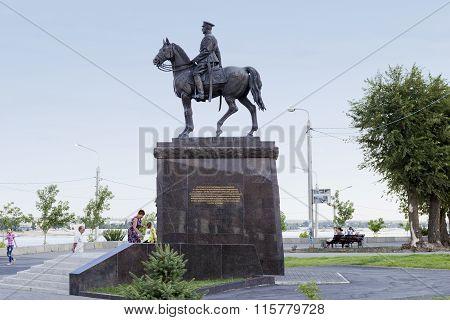 Marshal K. K. Rokosovsky Volgograd, Russia