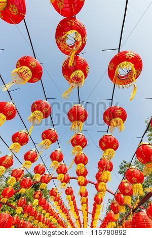 Chinese Red Lantern Decorations