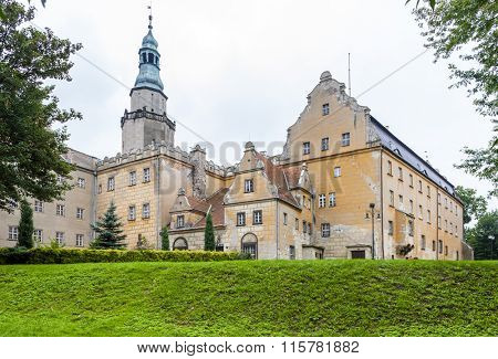 Palace of Olesnica, Lower Silesia, Poland