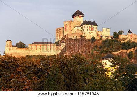 Trencinsky Hrad Or Trencin Castle