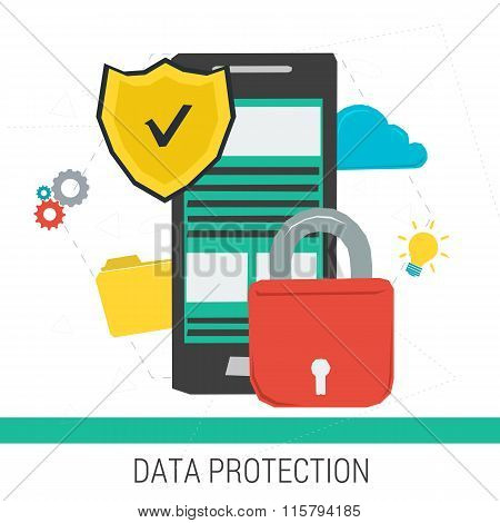 Concept data protection and safe work online