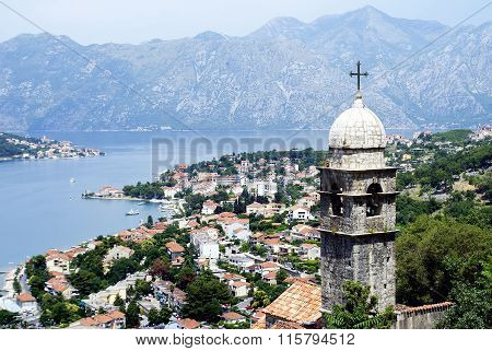 Kotor, Montenegro - July 08, 2014: Kotor's Castle Of San Giovanni