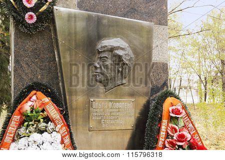 A Woman Steelworker. Volgograd, Russia