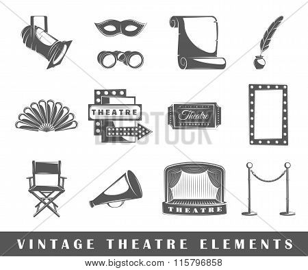 Vintage Theater Elements
