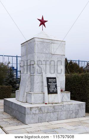 Obelisk 138 Division. Volgograd, Russia