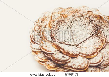 Belgian Waffles With Sugar