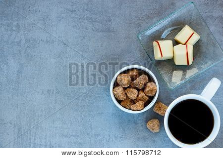 Coffee Cup, Brown Sugar And Chocolate