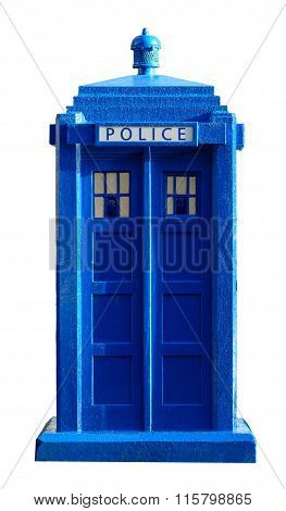 Police Box Cutout