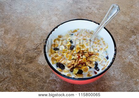Bowl Of Fresh Muesli
