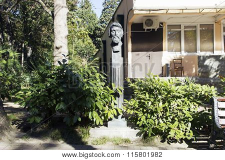 The Bust Of Belinsky V. G. Sochi, Russia