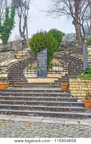 The Staircase In Garden