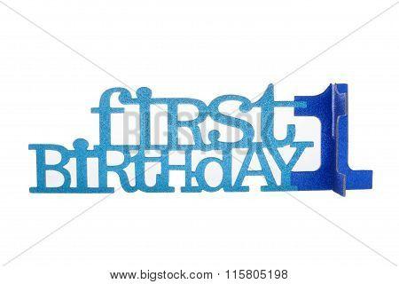 Boy's 1St Birthday