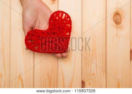 Symbol Of Valentine's Day - Give A Heart