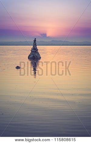 Salt Lake Landscape, Las Salinas, Torrevieja