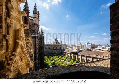 View from tower Giralda