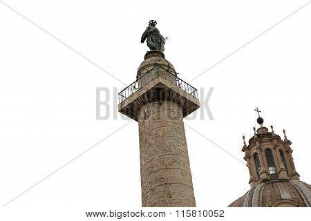 Trajan Column, Roman Forum, Rome, Italy