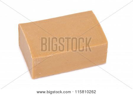 Bar Of Brown Household Soap