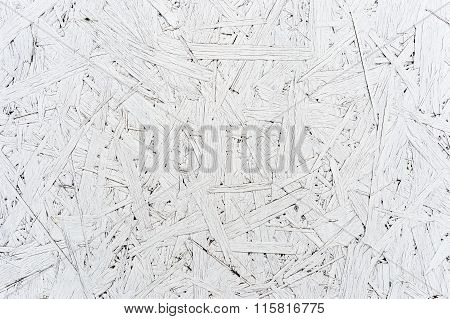 Compressed white chipboard (pressed wood)