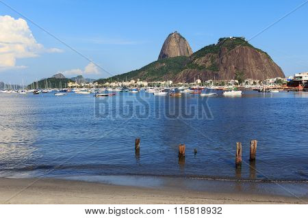 Mountain Sugarloaf And Guanabara Bay, Rio De Janeiro