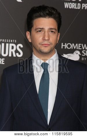 LOS ANGELES - JAN 25:  John Magaro at the The Finest Hours World Premiere at the TCL Chinese Theater IMAX on January 25, 2016 in Los Angeles, CA