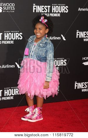 LOS ANGELES - JAN 25:  Trinitee Stokes at the The Finest Hours World Premiere at the TCL Chinese Theater IMAX on January 25, 2016 in Los Angeles, CA