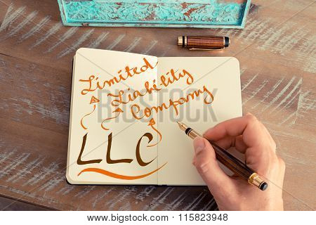 Business Acronym Llc Limited Liability Company