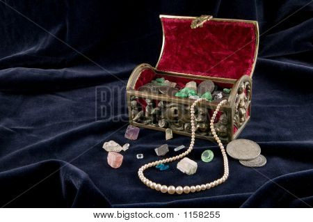 Old Jewel Chest