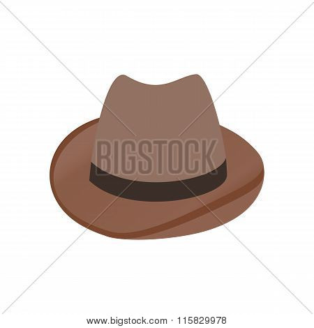 Cowboy hat isometric 3d icon
