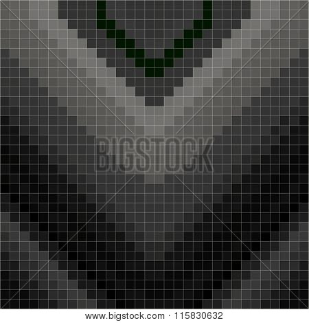 Dark Pixels Geometric Background Vector Illustration