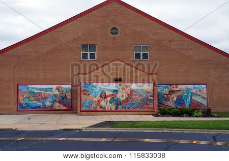 Murals at the Wesmere Elementary School