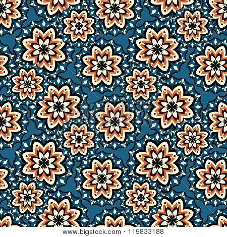 Beautiful Seamless Pattern. Vintage Elements