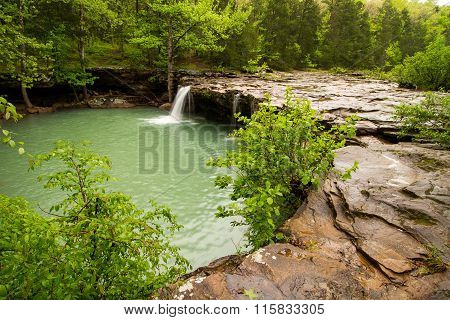 Falling Water Falls In Arkansas