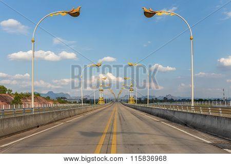 Third Thai Lao Friendship Bridge In Nakhon Phanom