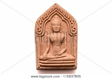 Small Buddha Image Used As Amulet