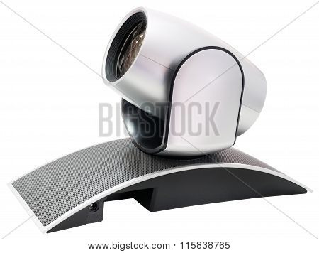Video Camera Isolated
