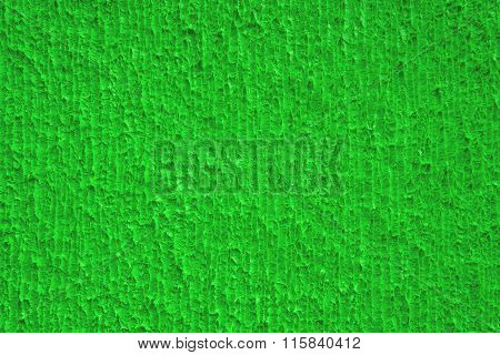 Abstract green painted texture