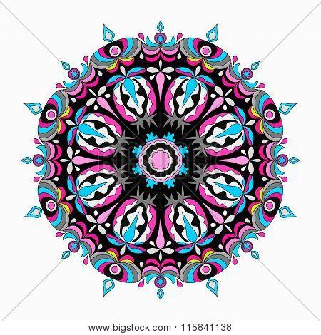 Ornament Beautiful Pattern With Mandala.