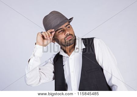 Hip hop portrait