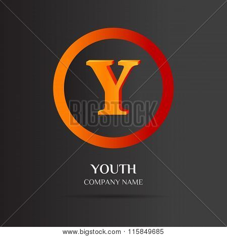 Y Letter Logo Abstract Design
