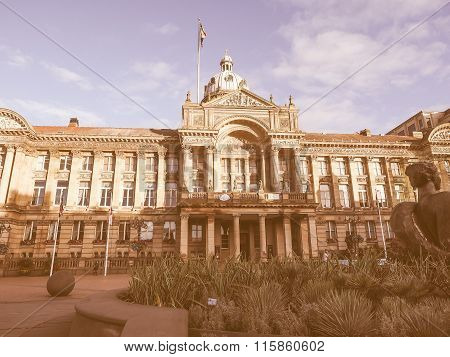 City Council In Birmingham Vintage