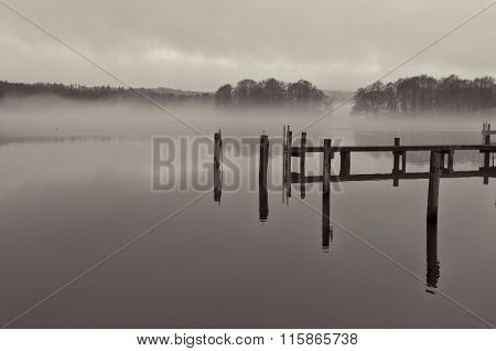 Mist Over The Lake