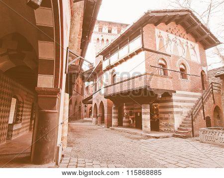Medieval Castle, Turin Vintage