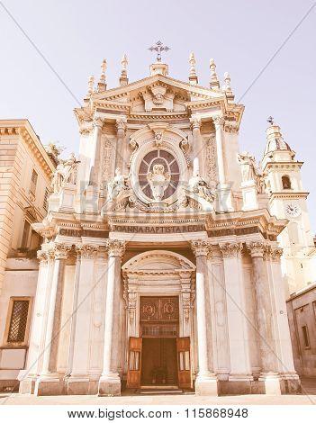 Santa Cristina And San Carlo Church Vintage