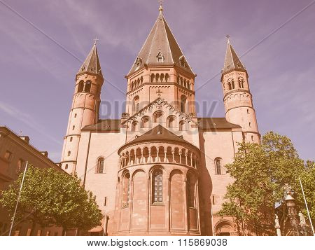 Mainz Cathedral Vintage