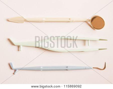 Dentist Tools Vintage