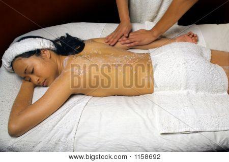 Sea Salt Scrub Massage Rub